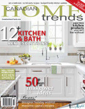 Canadian Home Trends Fall 2013 Cover