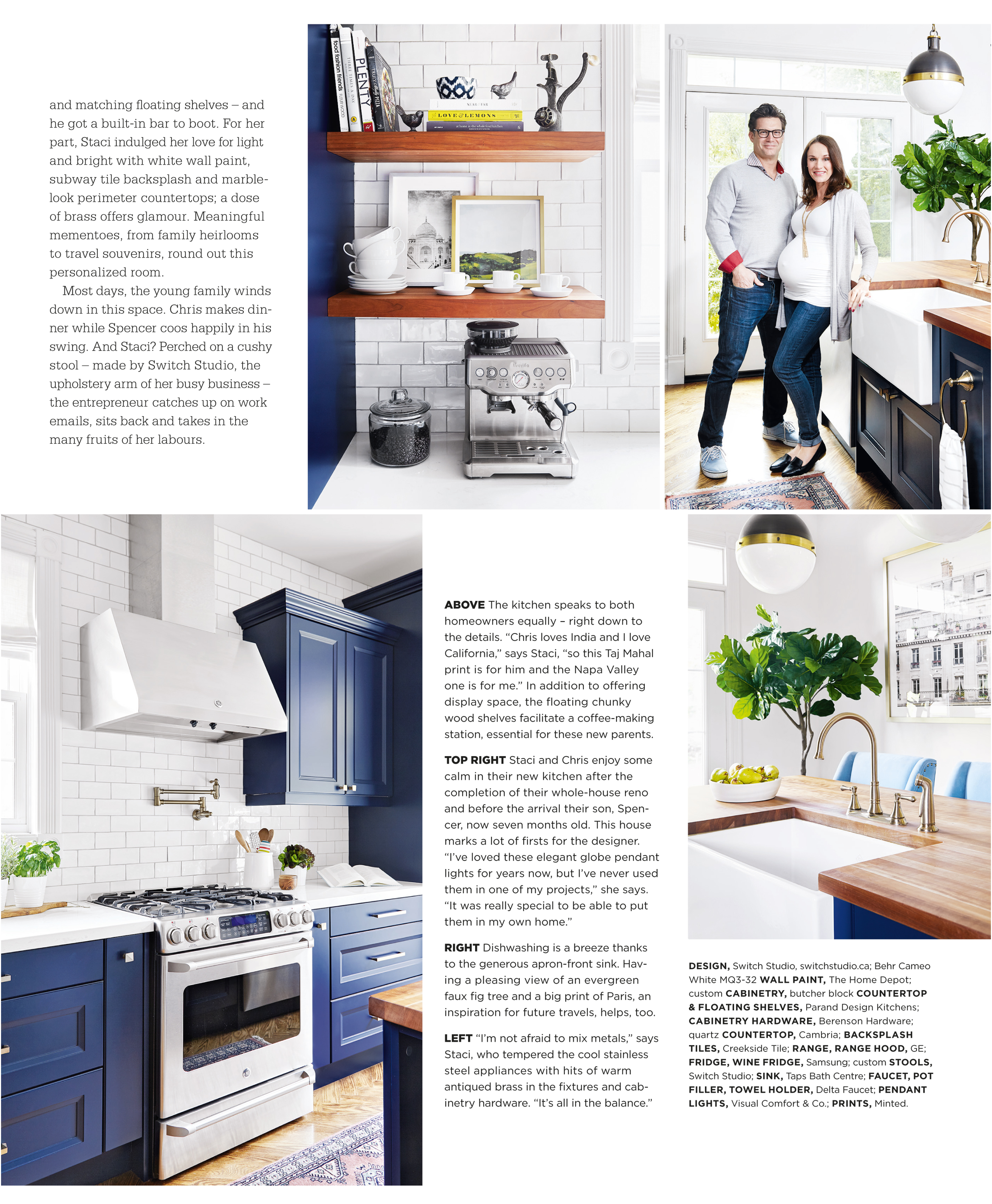 Staci\'s Kitchen In Style At Home Magazine   Switch Studio : Switch ...